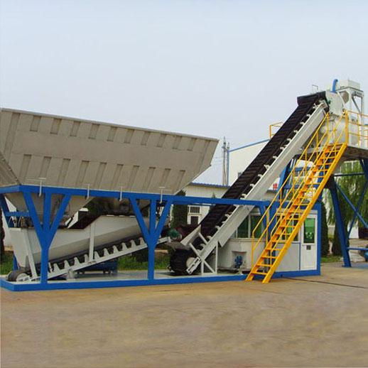 *YHZS35 Mobile Concrete Batching Plant