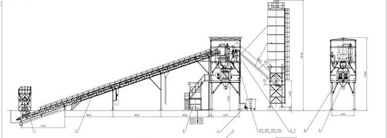 Batching Plant For Sale Hzs90 Batching Plant Indonesia