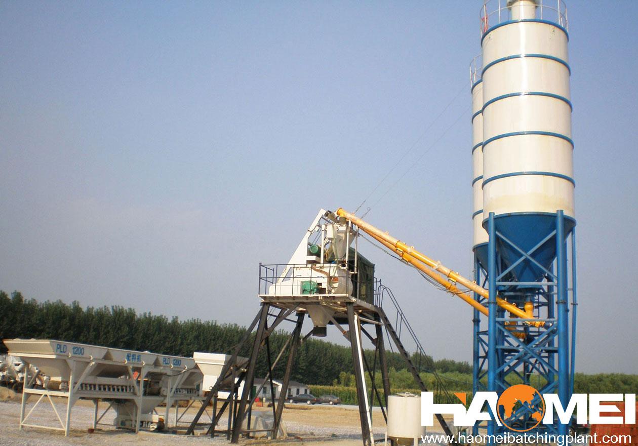 Small Cement Plant : Small concrete batch plant, hzs plant